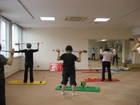 チャレンジ体操教室  運動強度★★☆☆